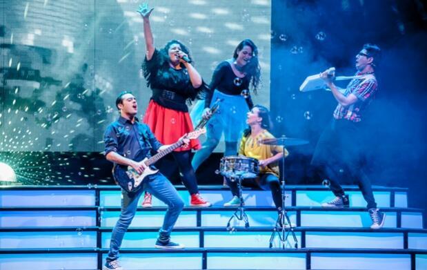 Este Viernes The Kids Band en Águilas