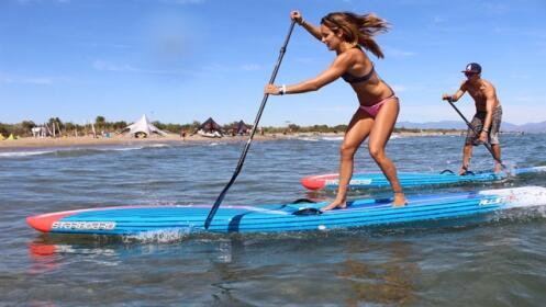 Paddel Surf: Iniciación, travesía, snorkel.