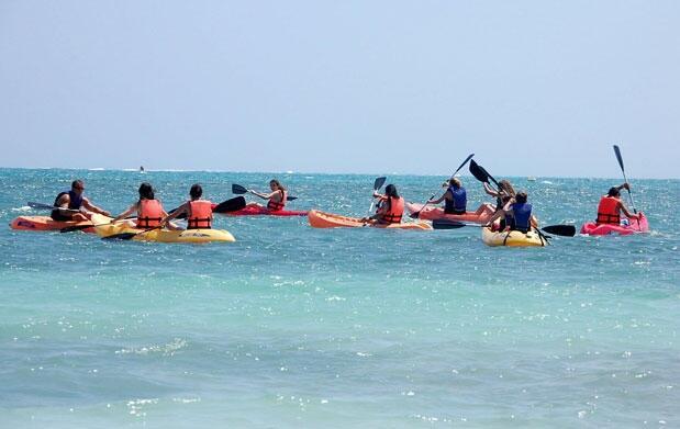 Curso de iniciación de Kayak 2 horas