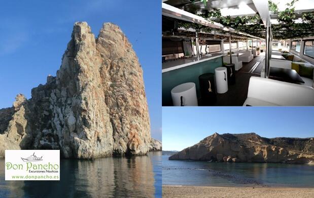 Paseo en barco por la costa de Águilas