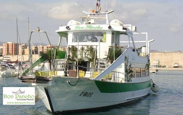 Paseo en barco Don Pancho y aperitivo