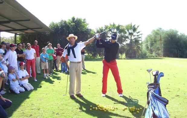 Iniciación al golf y entrada pitch & putt
