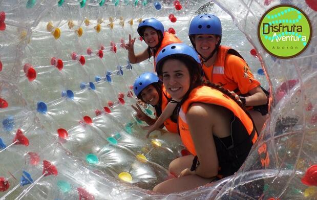 Rafting Río Segura, almuerzo y actividades
