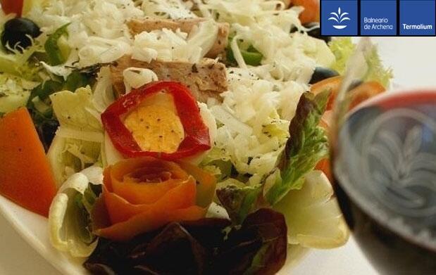 Balneario de Archena para 2: menú y spa