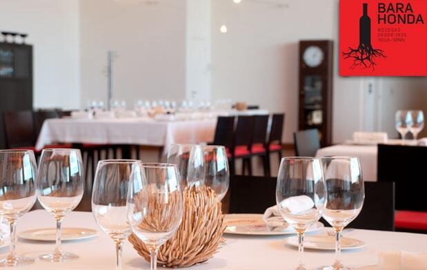 Visita a bodega DO Yecla, cata y menú