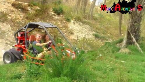 Ruta en buggie, picnic y fotos para dos