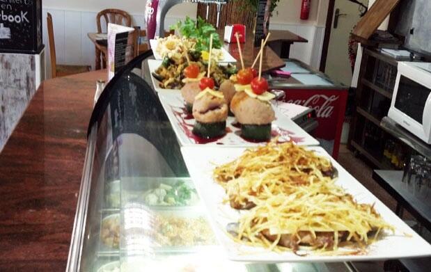 Menú Picoteo Gourmet en Casa Flores