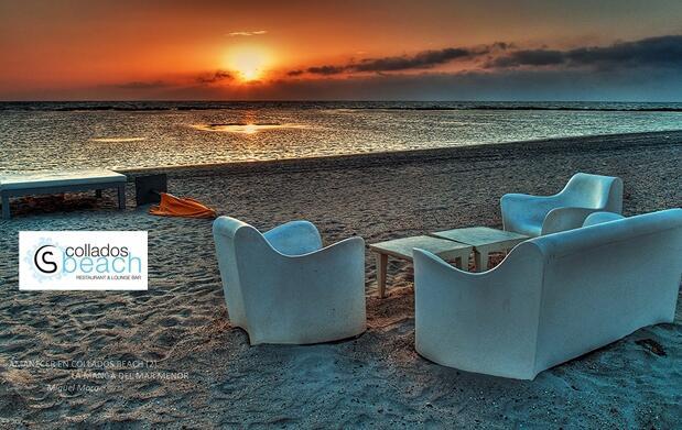 Menú maridaje de lujo en Collados Beach
