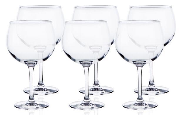 Set de 6 copas de gin tonic