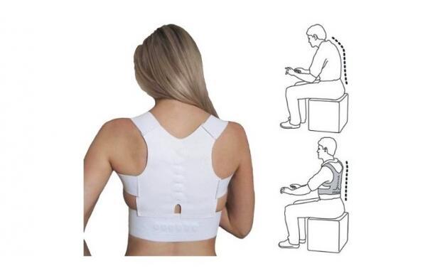 Corrector de espalda biomagnético