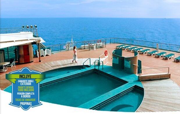 8 días de Crucero TODO INCLUIDO por 475€