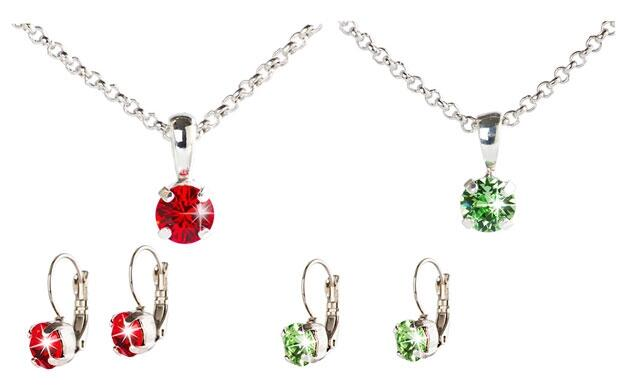 Set Destellos Made With Swarovski® Elements