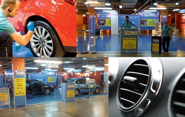 Limpieza detallada de coche en Cartagena