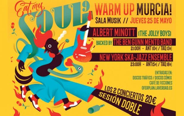 New York Ska-Jazz Ensemble y Albert Minott (25 mayo)