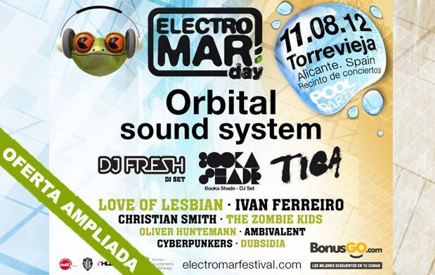 Electromar Festival: entradas VIP