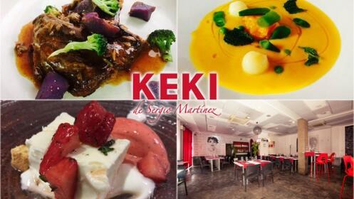 Keki de Sergio Martínez: menú cocina de autor