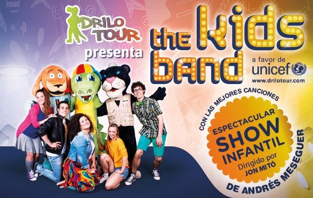 9J: The Kids Band con Angy Fernández
