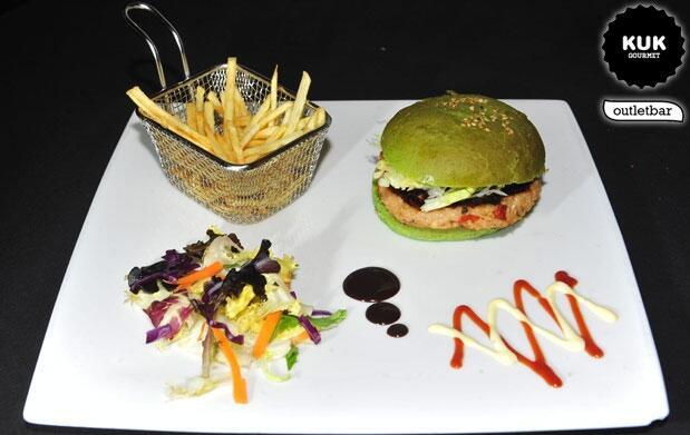 Menú hamburguesas premium KOBE y más
