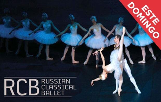 Ballet clásico ruso: Lago de los cisnes
