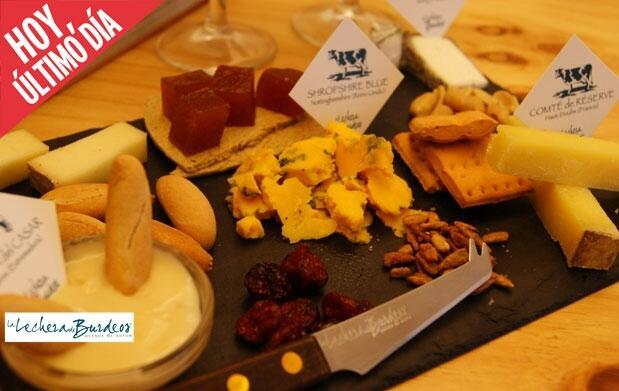 Cata de quesos por La Lechera de Burdeos