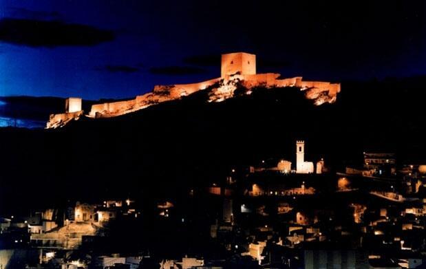 Castillo de Lorca: Fiesta y menú Brujas