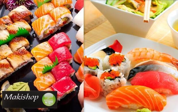 Menú sushi para 2 de 28 piezas