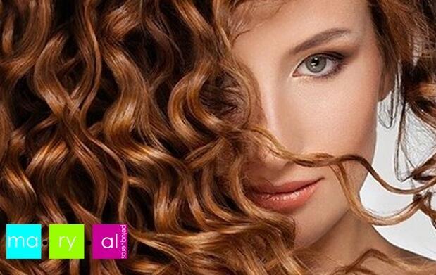 Lavado, oro fluido, corte y peinado