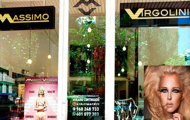Massimo Virgolini: Sesión de peluquería