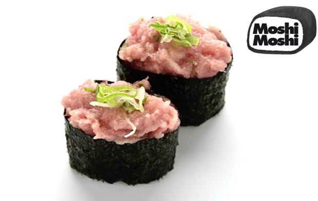 Menú japonés premium en Moshi Moshi