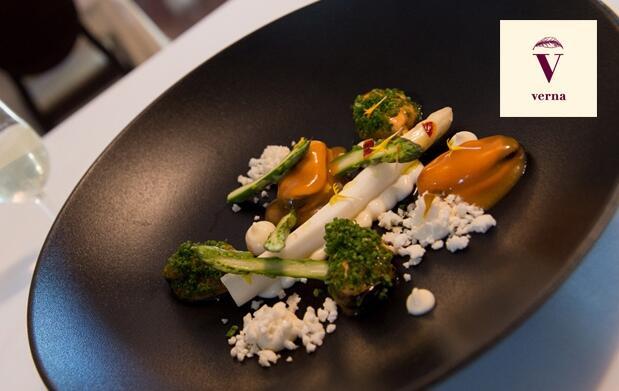 Menú degustación en Verna Restaurante - El Estudio de Ana