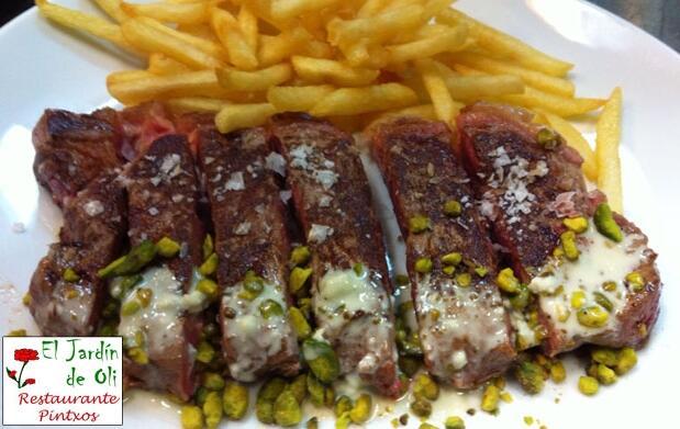 Menú para 2 con entrecot argentino