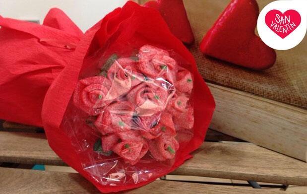 El ramo más dulce para San Valentín