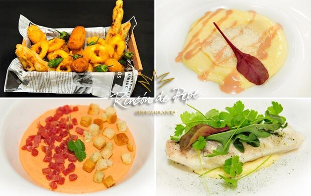 Rincón de Pepe: menú alta cocina murciana