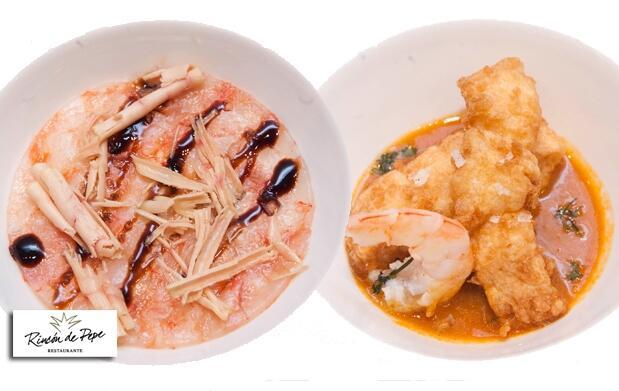 Un lujo de menú en el Rincón de Pepe