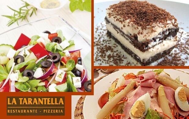 Delicioso menú pizza o pasta por solo 7€