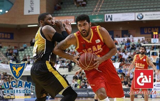 UCAM Murcia vs CAI Zaragoza 15 feb
