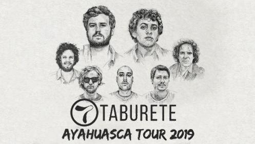 Entradas taburete ayahuasca tour 2019 en murcia el 6 for Entradas concierto taburete