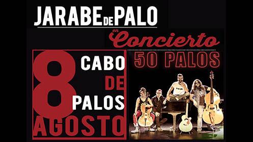 Jarabe de Palo: pack 2 entradas (8 ago)