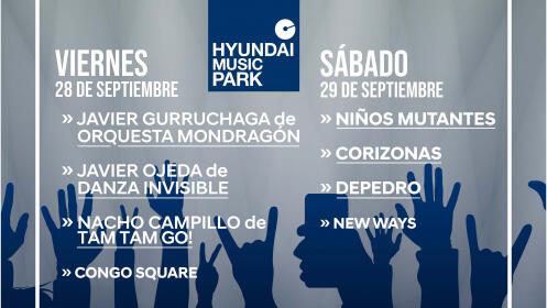 Hyundai Music Park Weekend llega a Murcia
