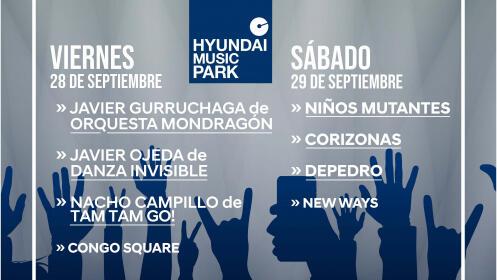 Hyundai Music Park Weekend llega a Murcia