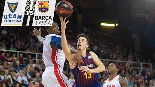 Entradas UCAM Murcia CB vs FC Barcelona Lassa