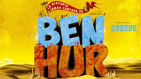 Revive con humor la historia clásica de Ben Hur (27 oct.)