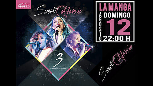 Sweet California en Trips: Pack 2 entradas (12 ago)