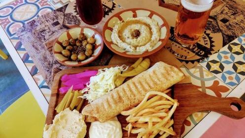 Sabores del Líbano: Menú degustación en Ghalboun Village