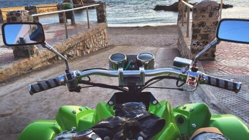 Ruta en Quads y aperitivo en El Chalé. Descubre Cartagena