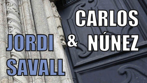 """Jordi Savall & Carlos Nuñez presentan """"Diálogos célticos"""" en San Javier"""
