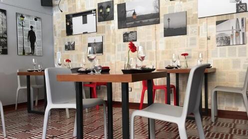 Menú Cocina Creativa en Restaurante Luces