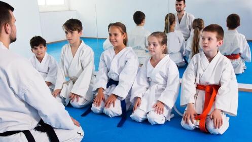 Clases de Karate para niños