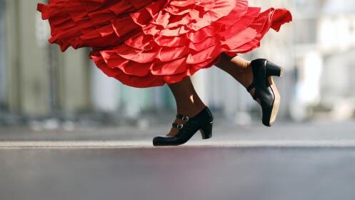 50% dto clases de Flamenco y Sevillanas