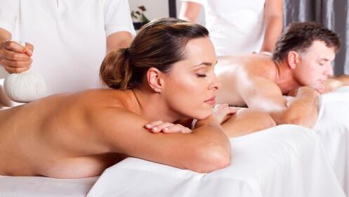 Masaje relajante en pareja con opción a masaje craneofacial desde 29,95 €